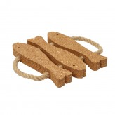 3 Fish Trivet - Cork, Dexam