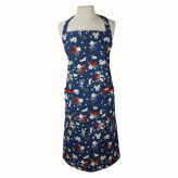 Dexam Adult Bloom Apron Indigo