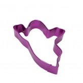 Ghost Cookie Cutter, 9cm – Purple