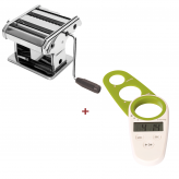 Italian Bundle - Pasta Maker & FREE Duo digital timer and spaghetti measure