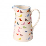 Little Birds Large Porcelain Jug - 18cm
