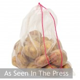 Dexam large reusable fruit and vegetable bag seen in the press