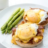Dexam poached eggs recipe