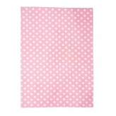Tea Towel - Polka Blush Pink