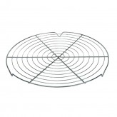 round chrome cooling rack Dexam