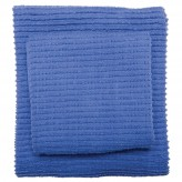 Kitchen Towel - Colour Centre Royal Blue Ripple