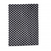 Tea Towel - Polka Slate Grey