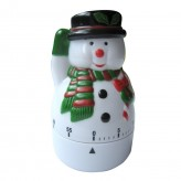 Snowman Kitchen Timer