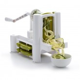 Dexam Spiralizer System with Three Vegetable Blades with courgette - from Dexam online