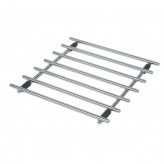 Dexam square chrome trivet