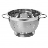 Stainless Steel Footed Colander 26cms