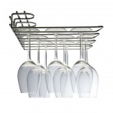 Hahn Metro Chrome Glass Stem Rack 3 Row