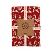 Yuletide Tea Towel - Red  Dexam