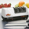 ChefsChoice Model 1520 - an electric knife sharpener you can use for sharpening and restoring european, japanese and serrated knives with 100% diamond abrasives