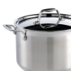 Lid detail on the Dexam Supreme Stainless Steel Saucepan, 22cm, 4.5L