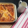 Marmalade and Whiskey Bread and Butter Pudding