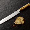 Forest and Forge 20cm Bread Knife with Spalted Beech handle