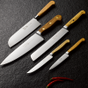 Forest and Forge 18cm Santoku Knife with Beechwood handle group