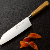 Forest and Forge 18cm Santoku Knife with Beechwood handle