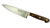 "Forest & Forge 6"" Cook's Knife, Walnut Handle"