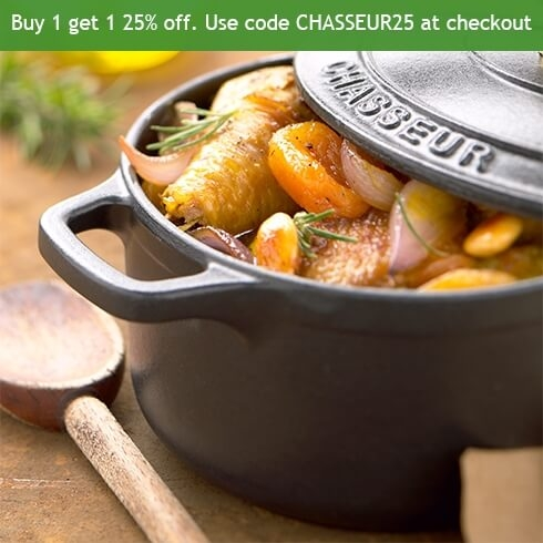 Chasseur Offer - Cast Iron Stockpots & Dishes