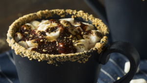 Get festive with our selection of alcoholic Hot Chocolates