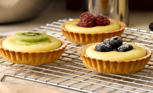 custard and fruit tartlet