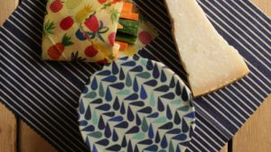 10 minutes with Beeswax: the reusable food wrap
