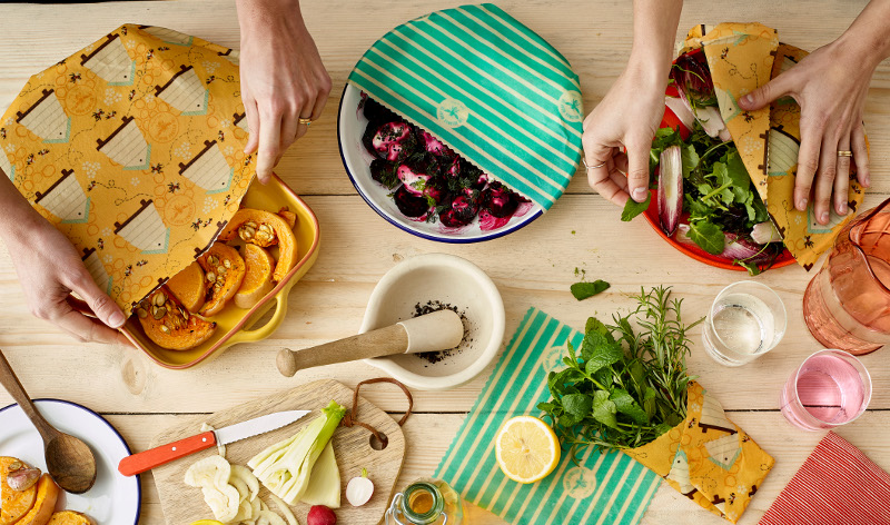 Sustainable food storage with Beeswax Wraps | Our Blog