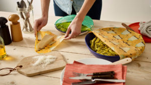 Sustainable food storage with Beeswax Wraps